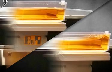抑制晃动以提高生产率 快速输送液体而不洒漏