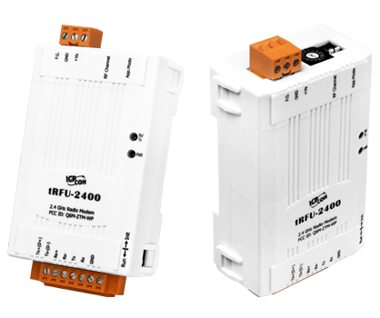 tRFU-2400, 无线 2.4G 转 RS-232/RS-485/RS-422 数据转换器