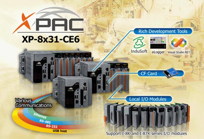 XP-8331-CE6, XP-8731-CE6Windows Embedded Compact 6 based XPAC