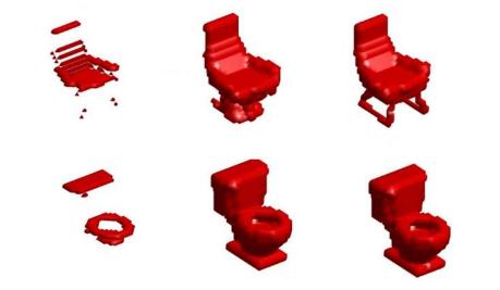 """重建3D图像 机器人突破""""视觉""""盲点准确呈现物品原貌"""