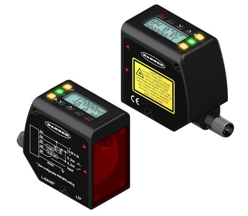 LTF系列激光测距双开关量IO-Link传感器