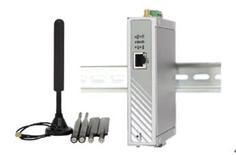 ICPDAS-泓格 IOP760AM 以太网络/UART转Wi-Fi转换器