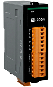 ICPDAS-泓格 M-2004 4端口菊花链数字温度传感器模块