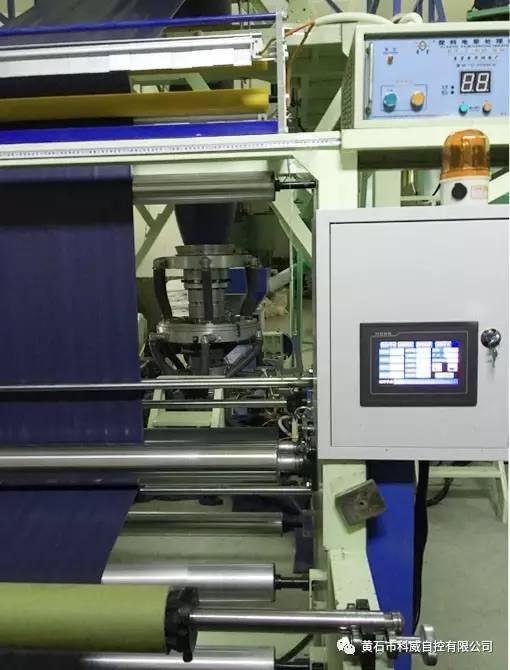 科威PLC和触摸屏在吹膜机上的应用设计