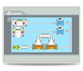 C7人机界面-7寸Haiwell海为新一代以太网HMI