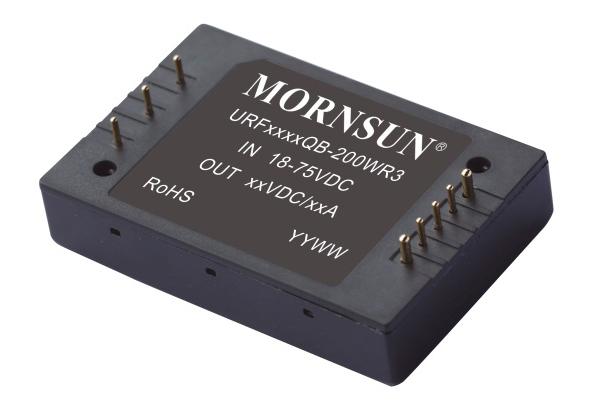 75-200W R3系列超宽电压输入隔离稳压DC/DC电源