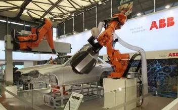 野心不小!ABB欲称霸110亿美元中国工业机器人市场