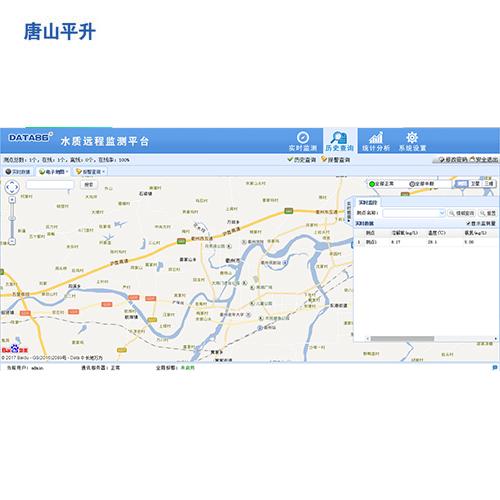 地表水水质远程监测系统软件