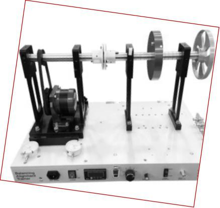 轴承动平衡轴对中电气教学模拟平台基础应用-昆山汉吉龙测控技术有限公司