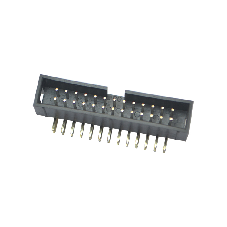 简牛连接器2.54间距26P弯针简牛针座