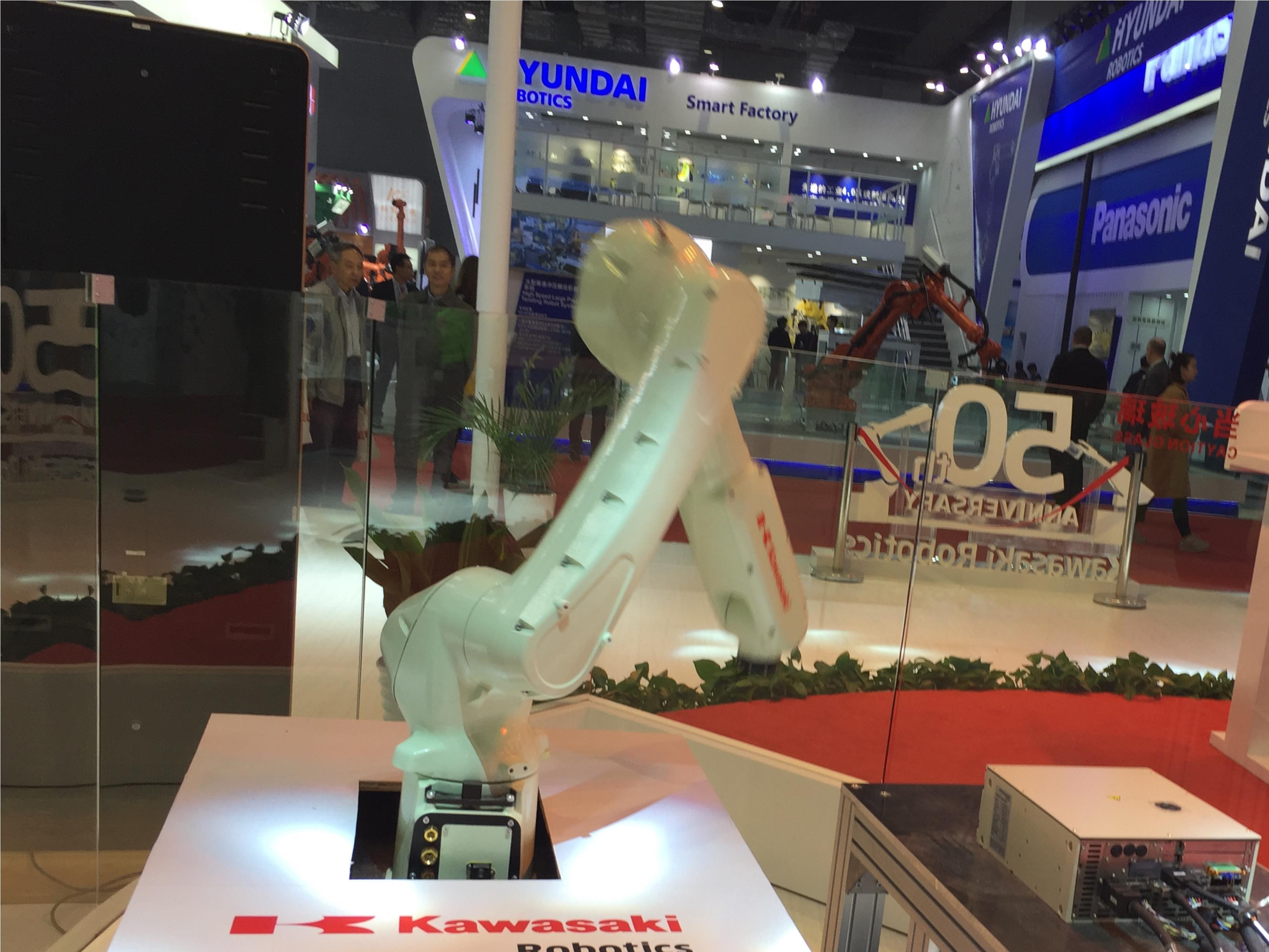 以市场需求为导向 川崎机器人工博会技术领先推新品