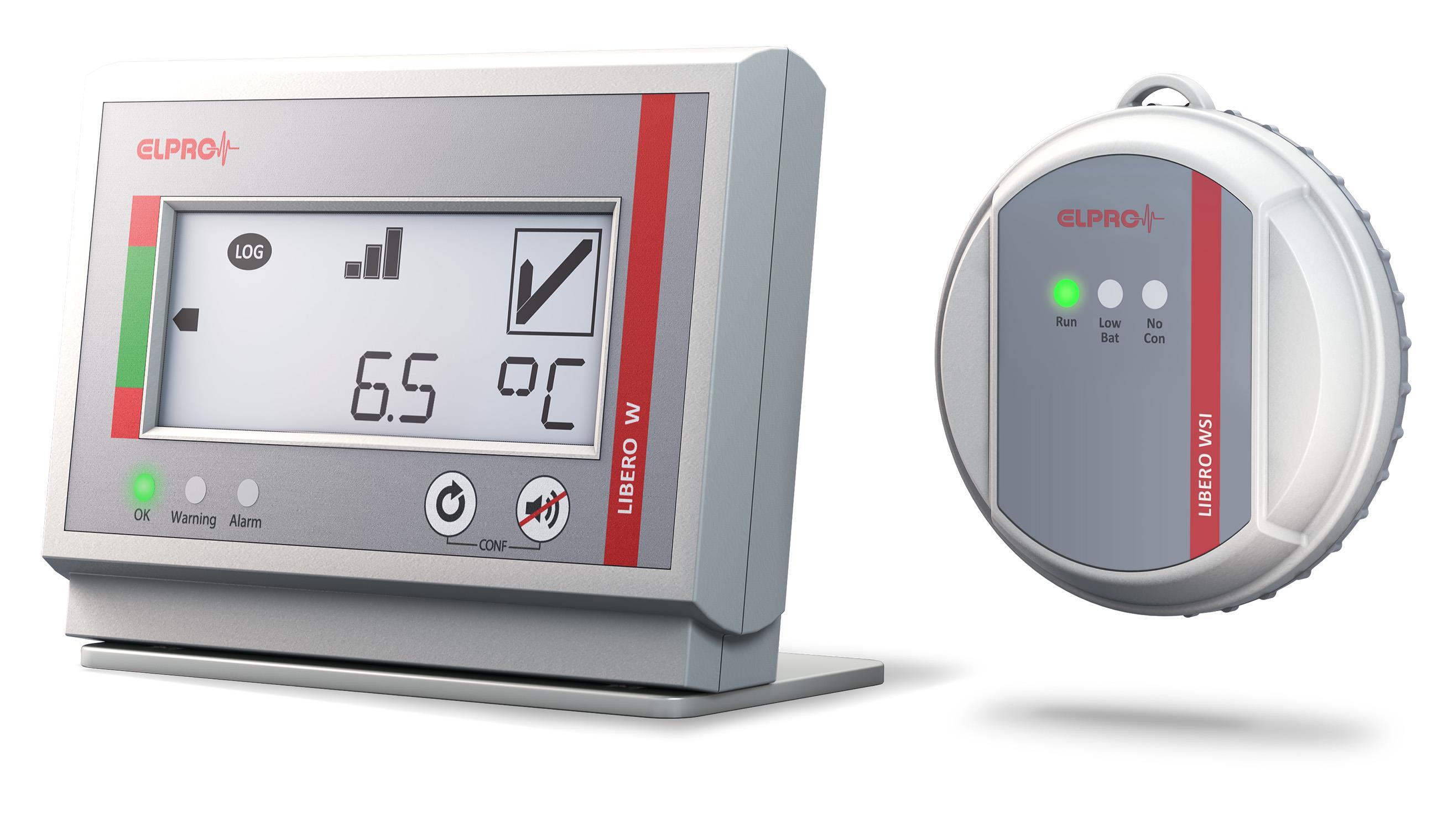 瑞士elpro无线PDF温度记录仪LIBERO W
