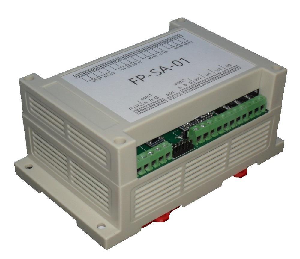 富睿单片机开发485通讯继电器板