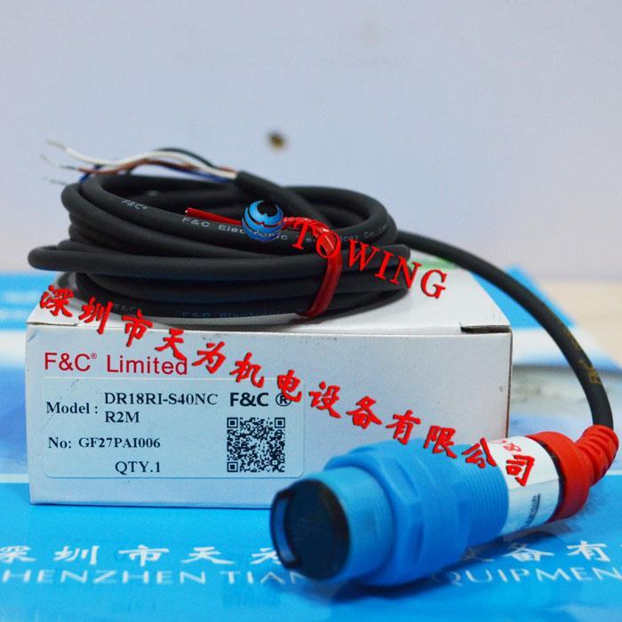 光纤传感器DR18RI-S40NC R2M台湾嘉准F&C