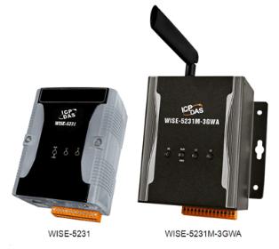泓格科技 WISE-5231M-4GE/WISE-5231M-4GC 智能型 IIoT 集中器 (金属外壳、支持 4G 无线网络功能)