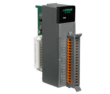 泓格科技 I-87004W 4端口菊花链数字温度传感器模块