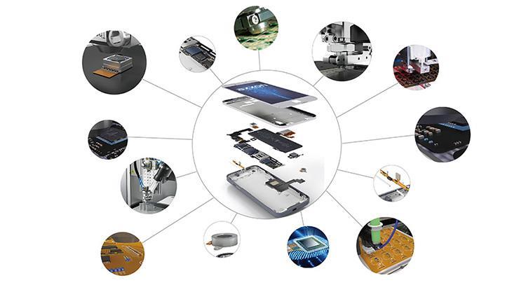 点胶在手机行业中是如何应用的?
