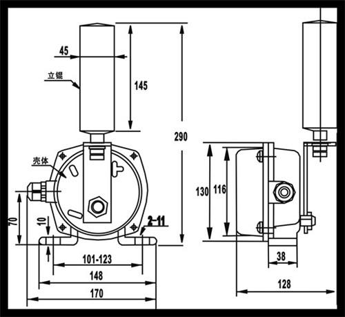 DQK-2两级跑偏开关推荐产品