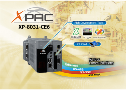 XP-8031-CE6 Windows Embedded Compact 6 based XPAC