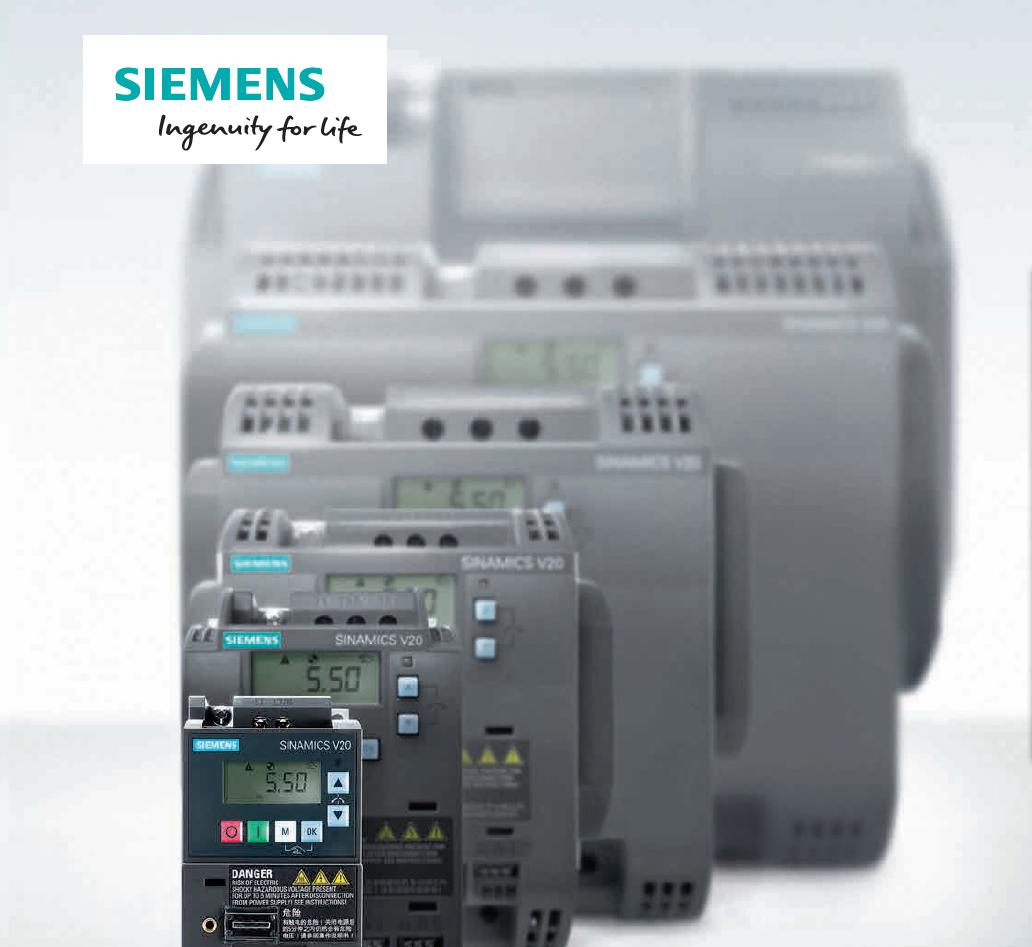 6SL3210-5BB12-5UV1西门子V20变频器总代理