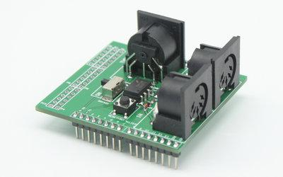 MT-SPM105 串口转MIDI模块