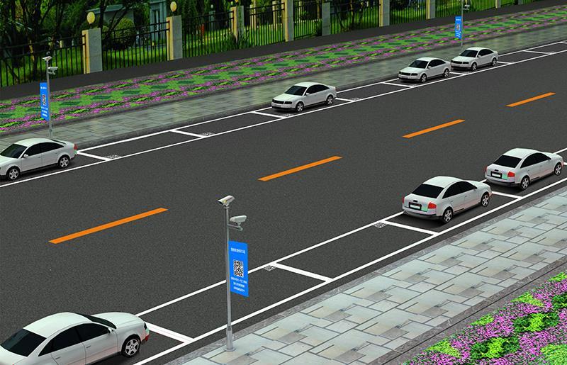 科拓路内视频停车解决方案让路内停车不再难