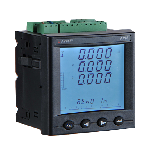 体积小巧 高精度全电量型 精度0.2S级 APM801 网络电力仪表