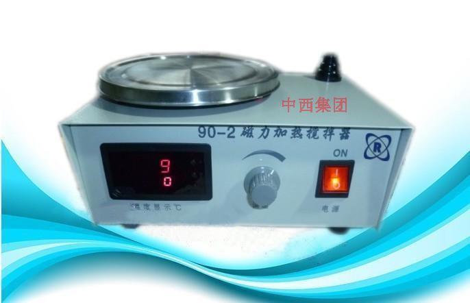 中西dyp 数显恒温磁力搅拌器 型号:BV01-90-2库号:M226205