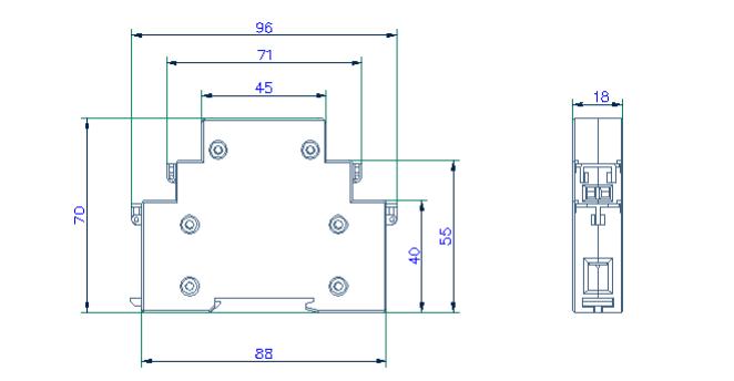 基础款 厂家直销 DDS1352单相计量表