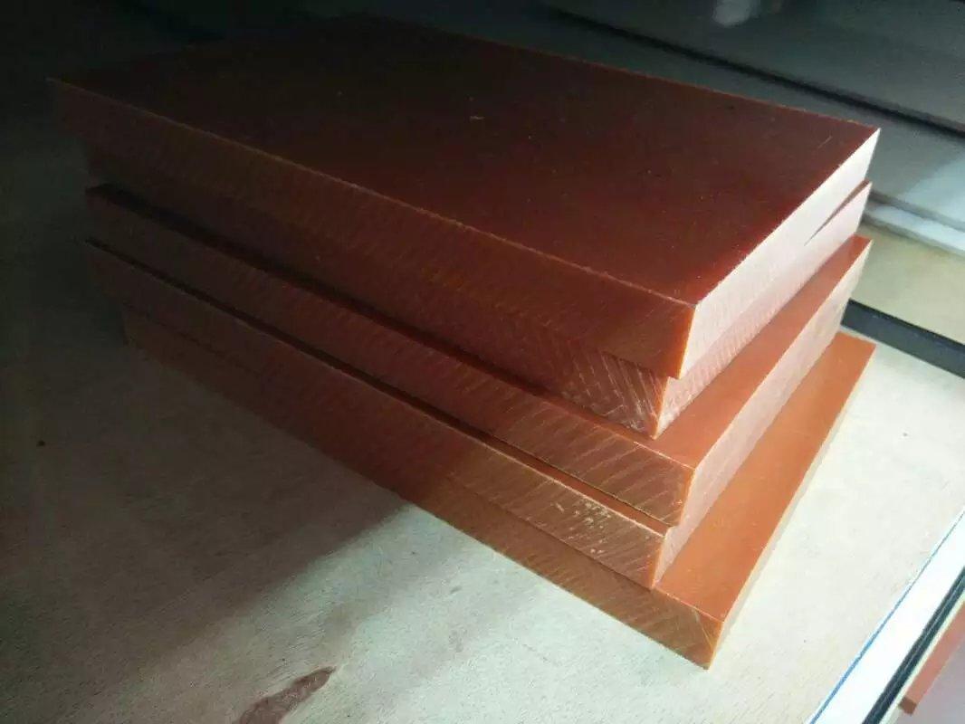 橘红色电木板,生产电木板厂家