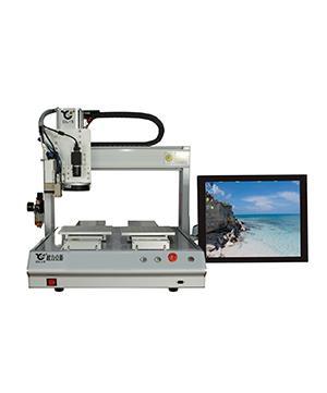 �Ƨ力克斯CCD桌面视觉点胶�����动定位点胶机电�\板点胶机