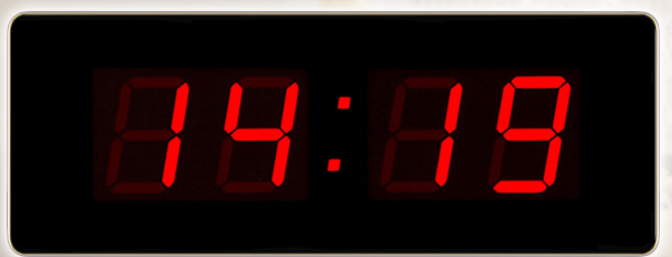 ��Z��WIFI� �络校时的时钟屏 一键入� ?LED同步旉���