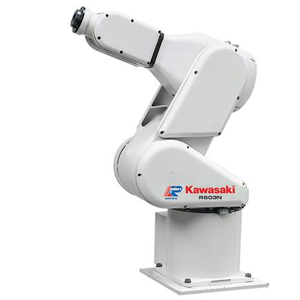 川崎 小到中等负载 R系列机器人(3-80 kg)