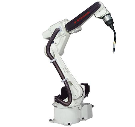 川崎 熟练而灵活的弧焊机器人 最大负载:5~20kg