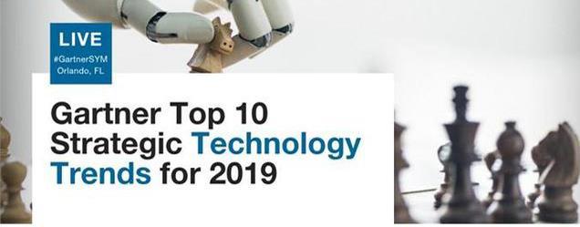 2019年十大战略科技发展趋势,自动化技术位居榜首