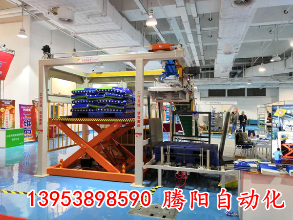 全自动码垛机提高了生产效率和空间利用率