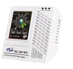 泓格科技新產品上市: DL-301-WF/ DL-302-WF/ DL-303-WF 含Wi-Fi界面之CO /CO2 /溫度/濕度/露點數據記錄器