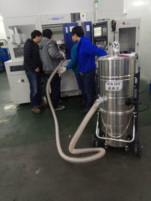 车间仓库粉尘工业吸尘器 工厂强力吸尘器