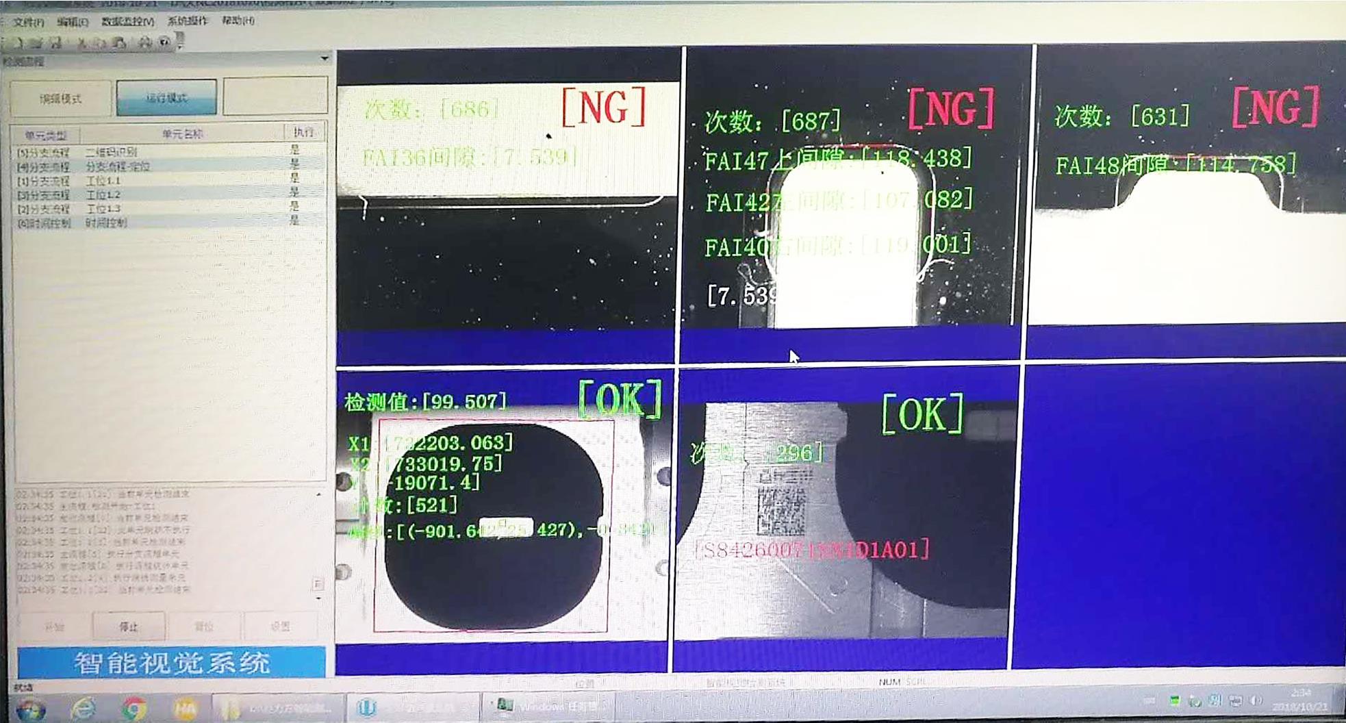 多功能、多工位并行控制视觉系统
