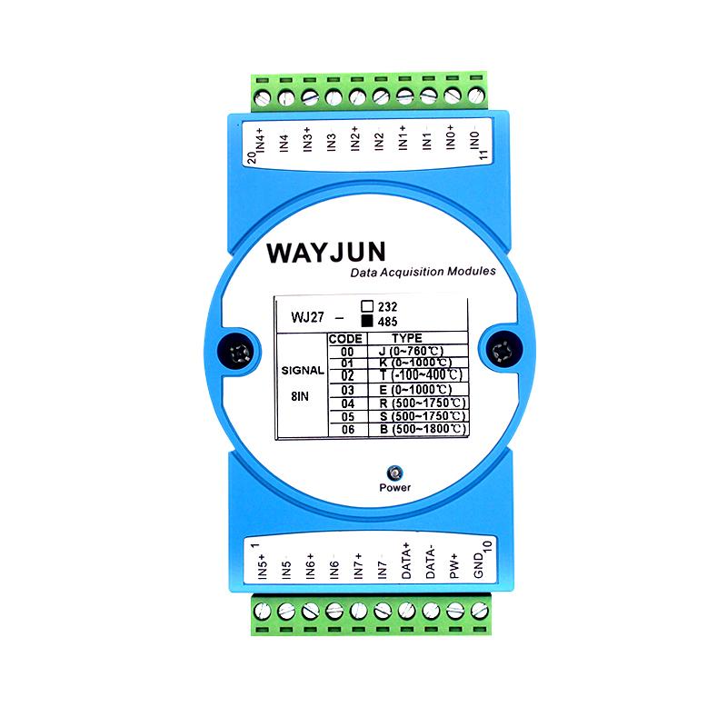 远程数据采集模块八路热电偶信号采集