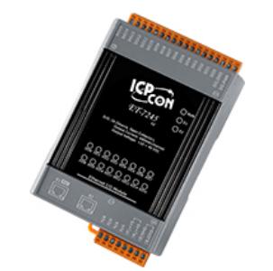 新產品上市:ET-7245/PET-7245 網絡型I/O模塊,支持2-port Ethernet Switch及16個數字輸出通道