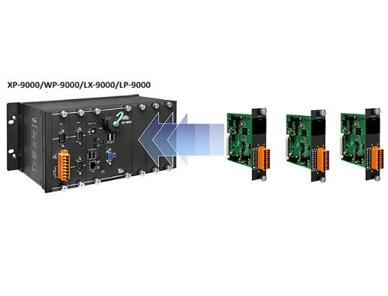 新產品上市: I-9K系列 I/O擴充模塊 適用于XP-9000, WP-9000, LP-9000或LX-9000等系列可編程自動化控制器(PACs)