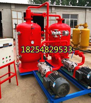 腾阳密闭式蒸汽回收机有效提高锅炉实际热效率