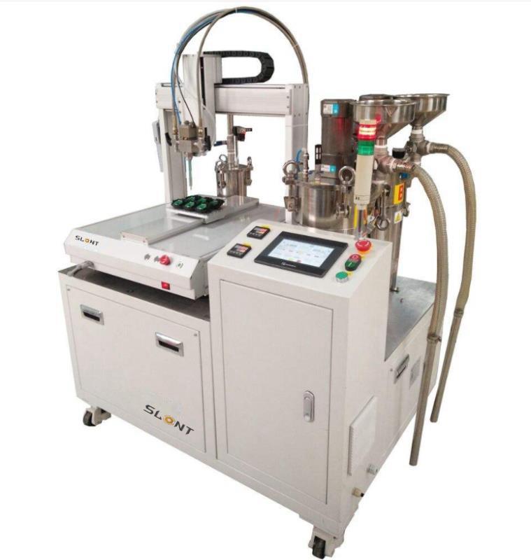 北京AB双组份灌胶机 点胶机厂家 大流量螺纹管胶机