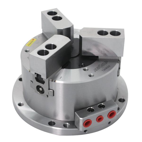 动力夹头、筒夹夹头、展刀搪沟头、空油压回转缸、回转分流阀/回转接头