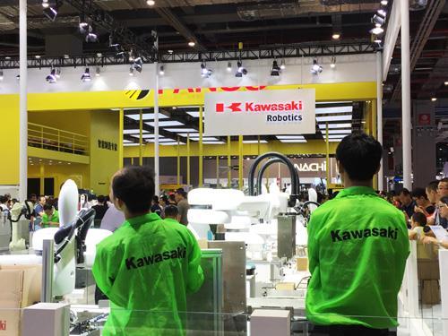 川崎将在渝新建机器人产线和研发中心