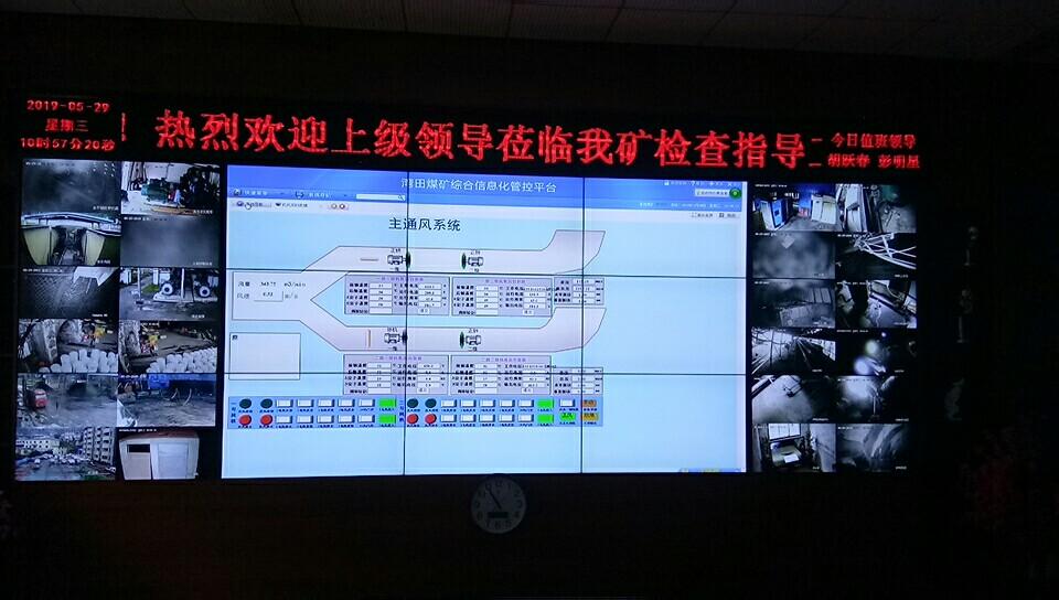 煤矿综合信息化管控平台