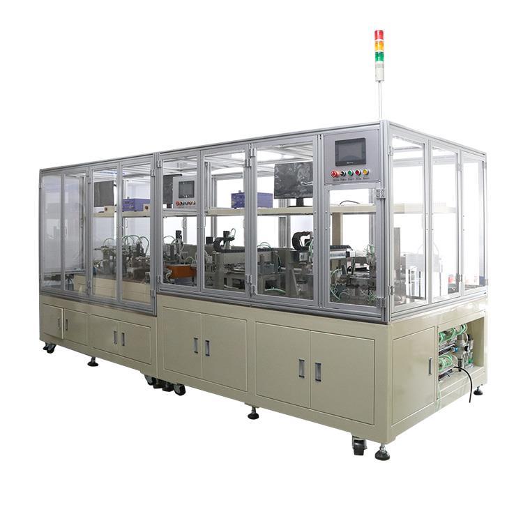 内磁式喇叭自动化磁路组装机