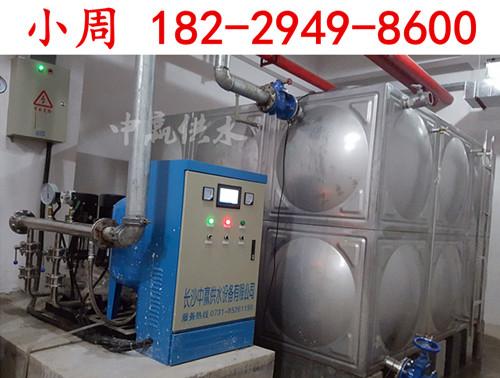 广西崇左学校两套恒压供水设备调试运行