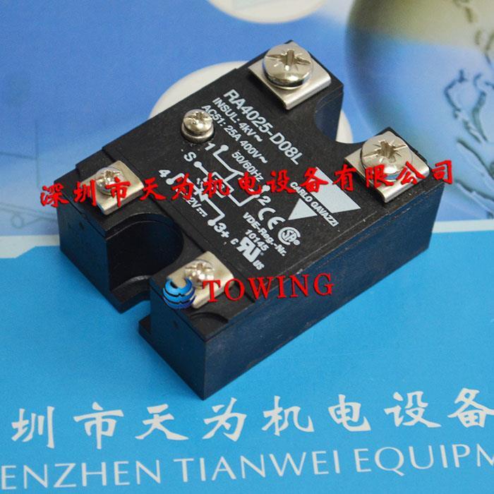 瑞士CARLO GAVAZZI佳乐固态继电器RA4025-D08L